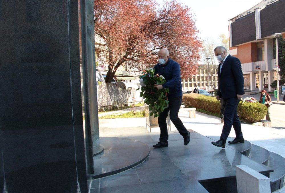 Полагањем цвијећа симболично обиљежен Дан ослобођења Зворника