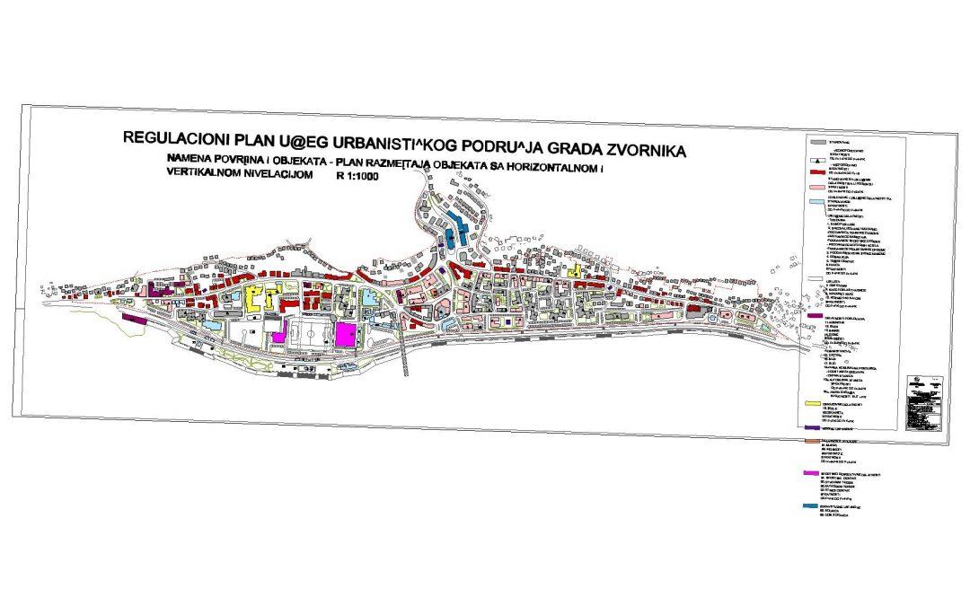 У току јавни увид у измјене Регулационог плана града Зворника