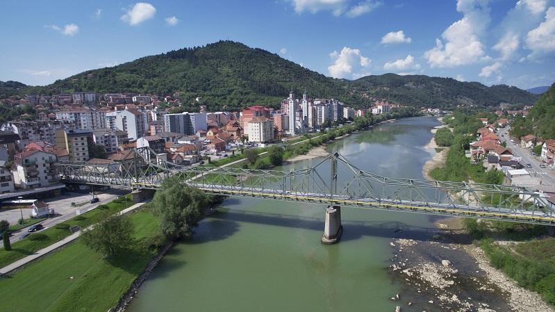 King Alexander's bridge in Zvornik was reconstructed