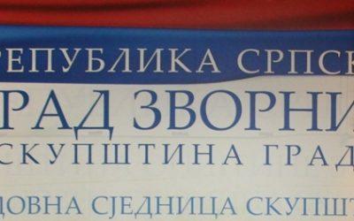 U utorak 38. redovna sjednica Skupštine grada