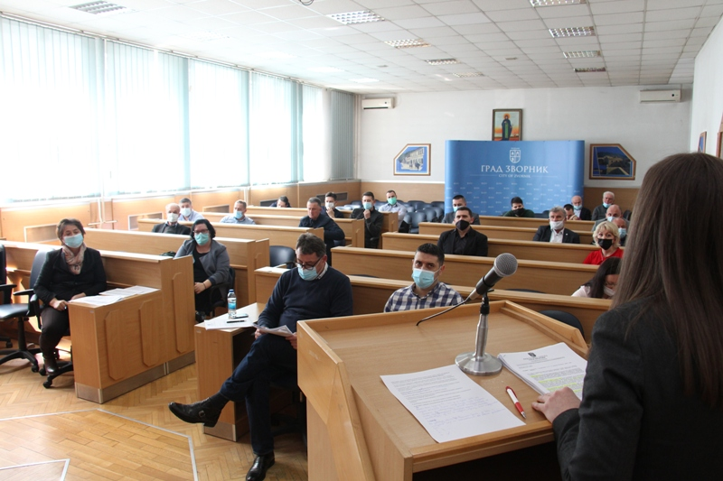 The 5th session of the Economic Council of the City of Zvornik was held