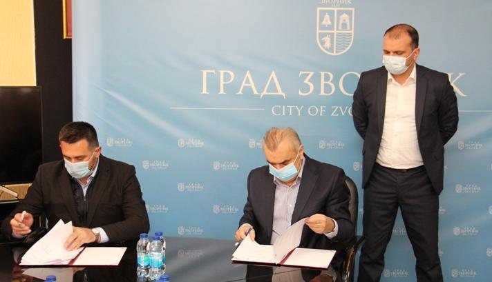 Градоначелник и Рамић потписали Меморандум о сарадњи на инфраструктурним пројектима
