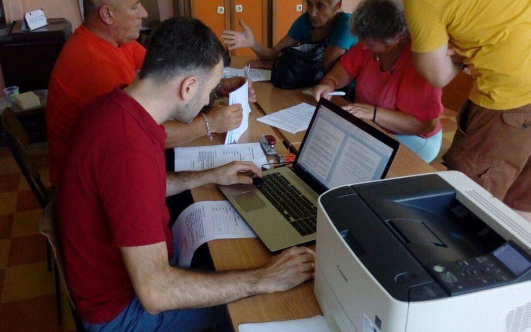 Потписивање уговора за водоснабдијевање са корисницима у Локању