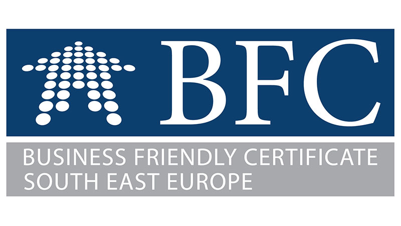 Business Friendly Certificate (BFC) – The City of Zvornik met the criteria