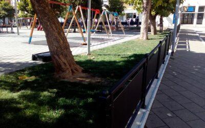 Нова ограда око дјечијег игралишта